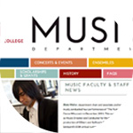 thumbnail image for Edgewood College  Music Department site