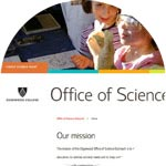 thumbnail image for Edgewood College  Office of Science Outreach site