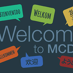 thumbnail image for MCDS signage / environmental graphics
