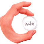 thumbnail image for outlier design business cards
