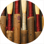 thumbnail image for Oboe reedmaking photographs